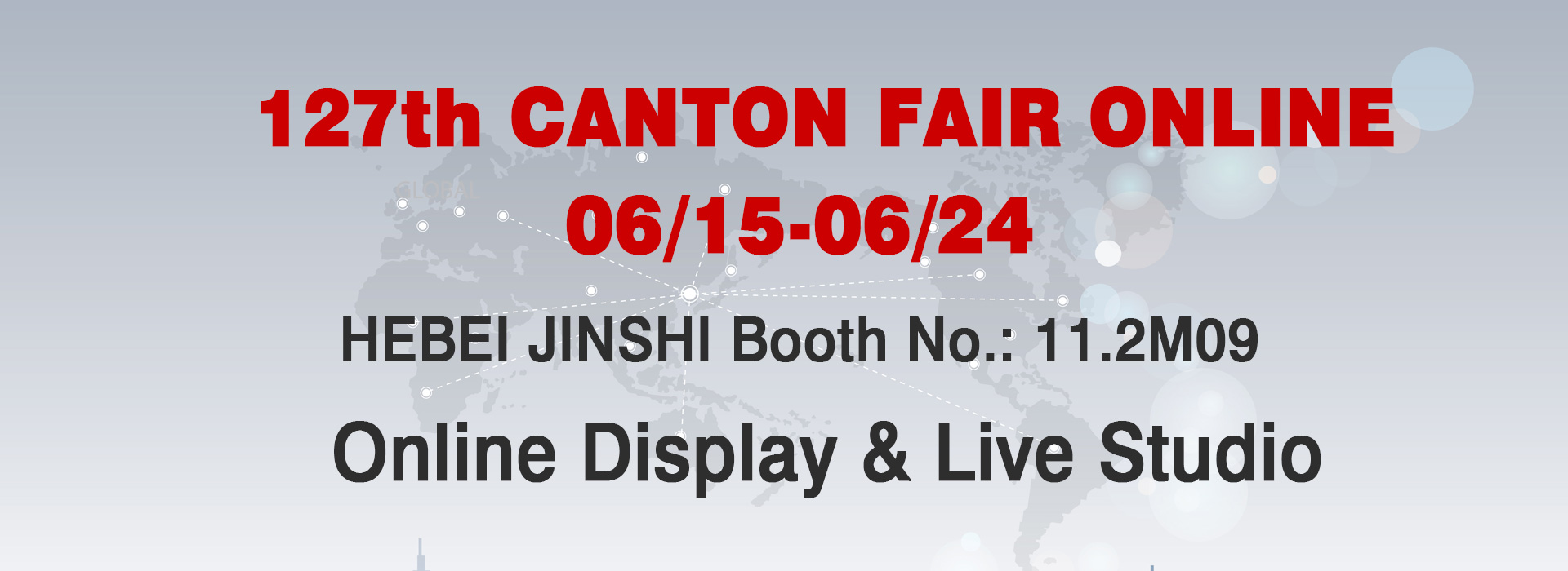 Meet in 127th Canton Fair Online
